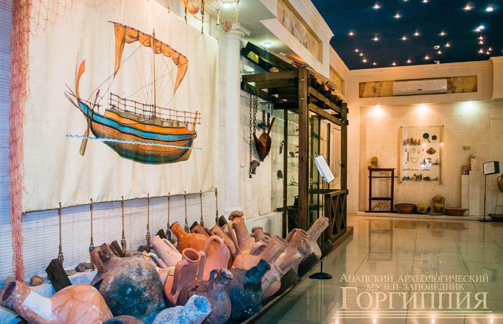 Музей посвященный древгиму городу Горгиппии