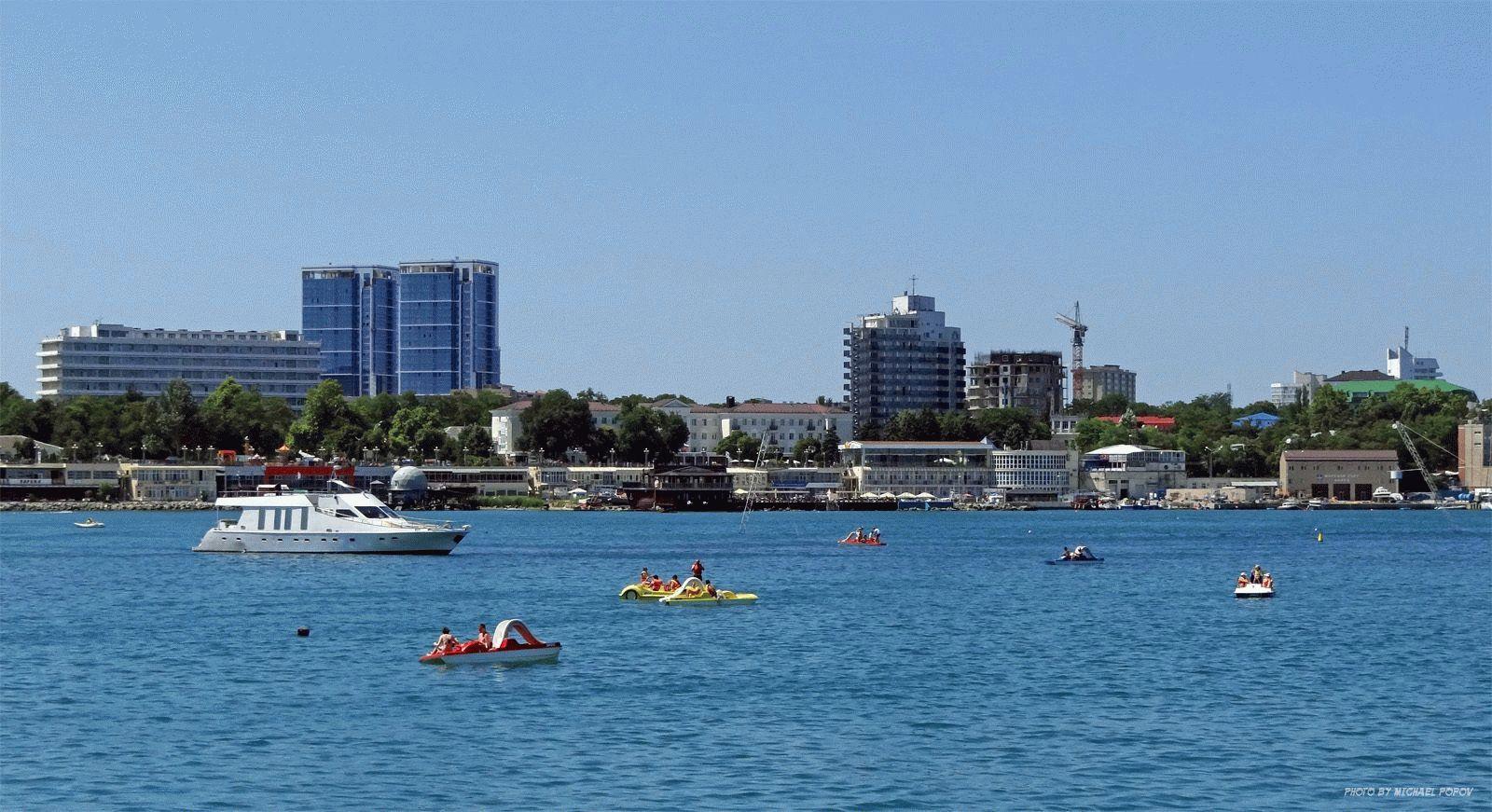 Город - курорт на Черном море