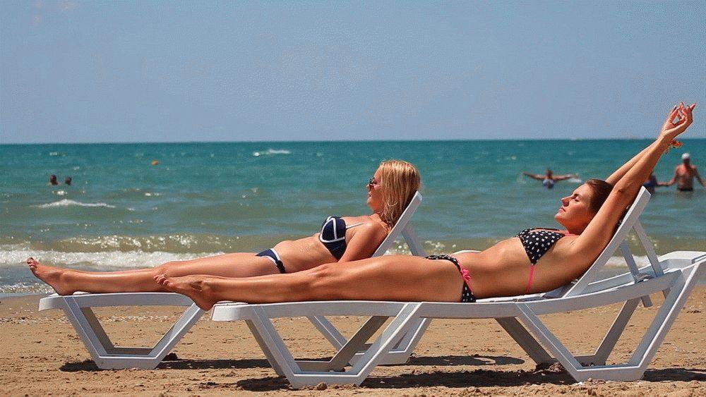 Лечебные пляжи города Анапа