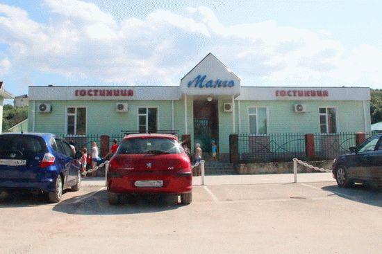 Гостиница в Голубицкой