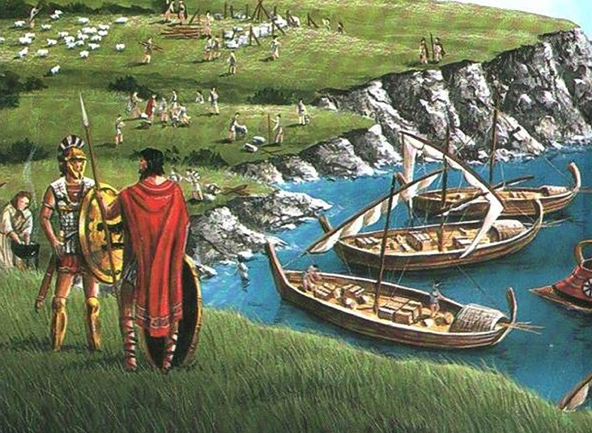 Греческие поселения на берегах Черного моря