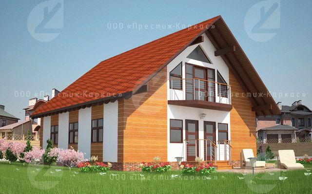 Проект загородного дома из мини-бруса