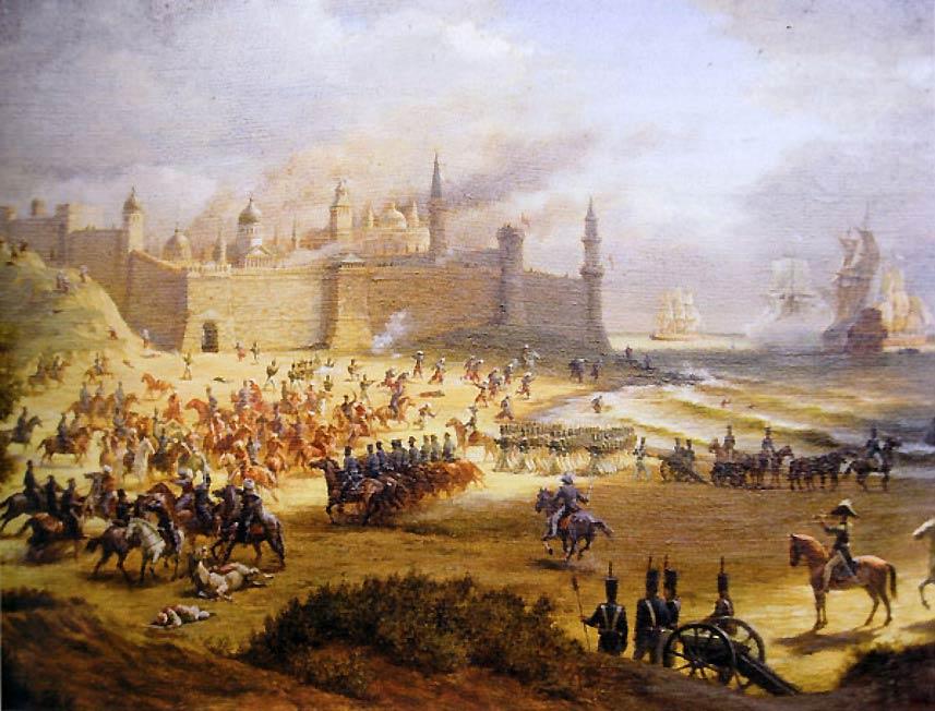 Взятие крепости Анапа
