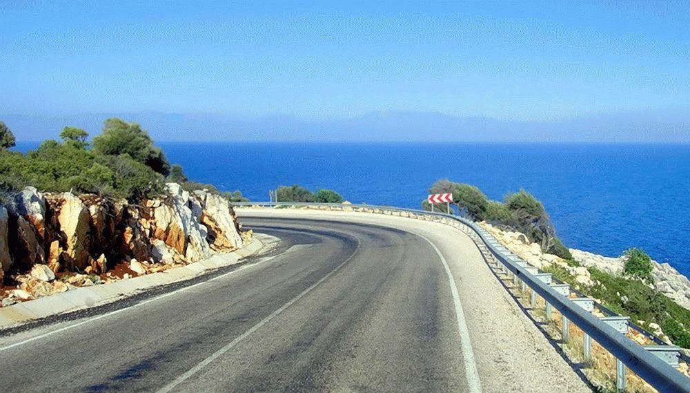Дорога на курорт