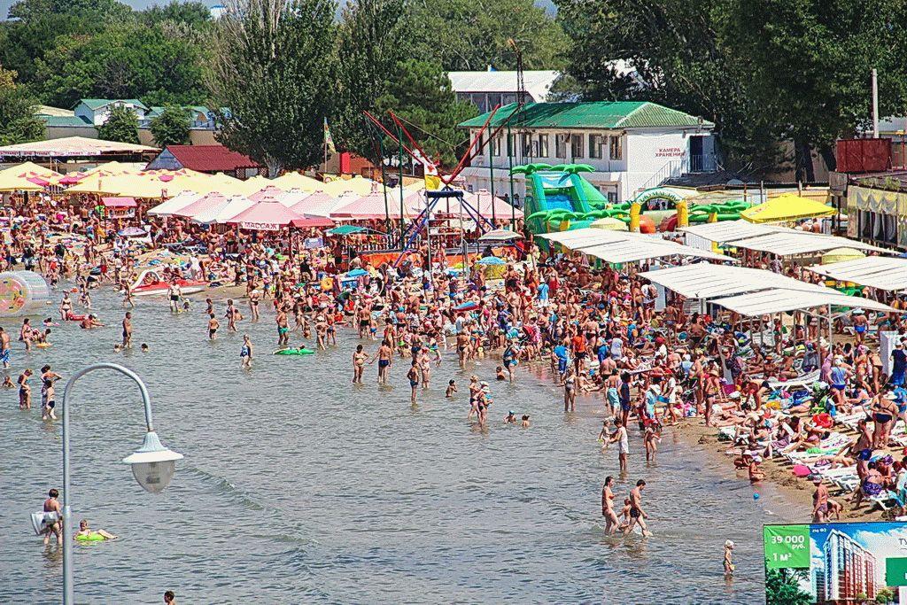 Лето на курорте