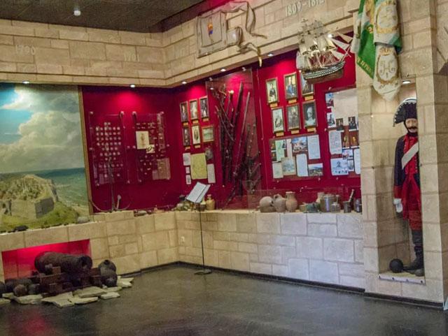 Экспозиции Краеведческого музея курорта