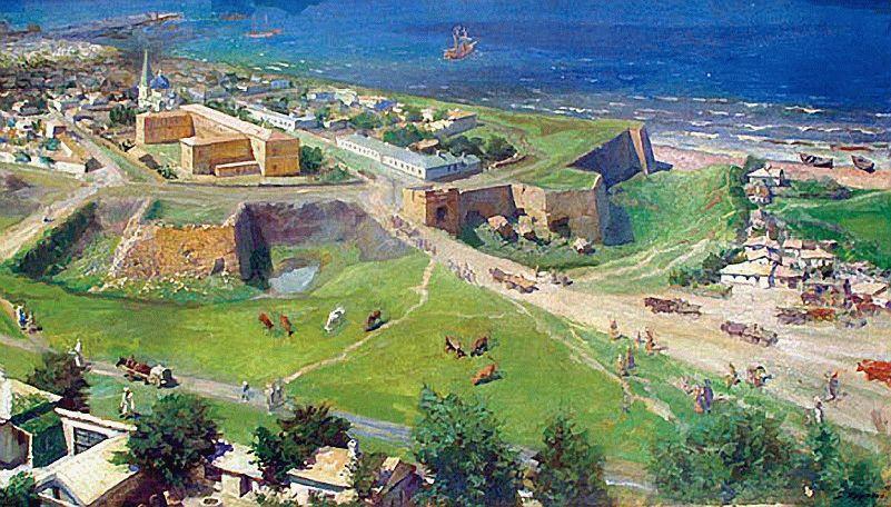 остатки крепостных стен Анапы