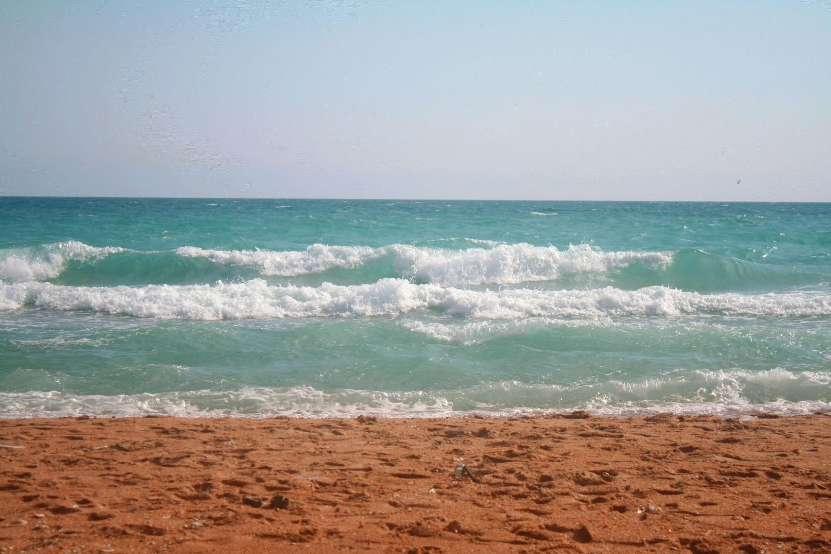Пляж в Анапе