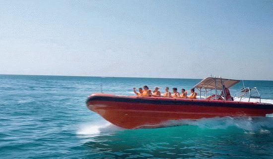 Морские развлечения на курорте