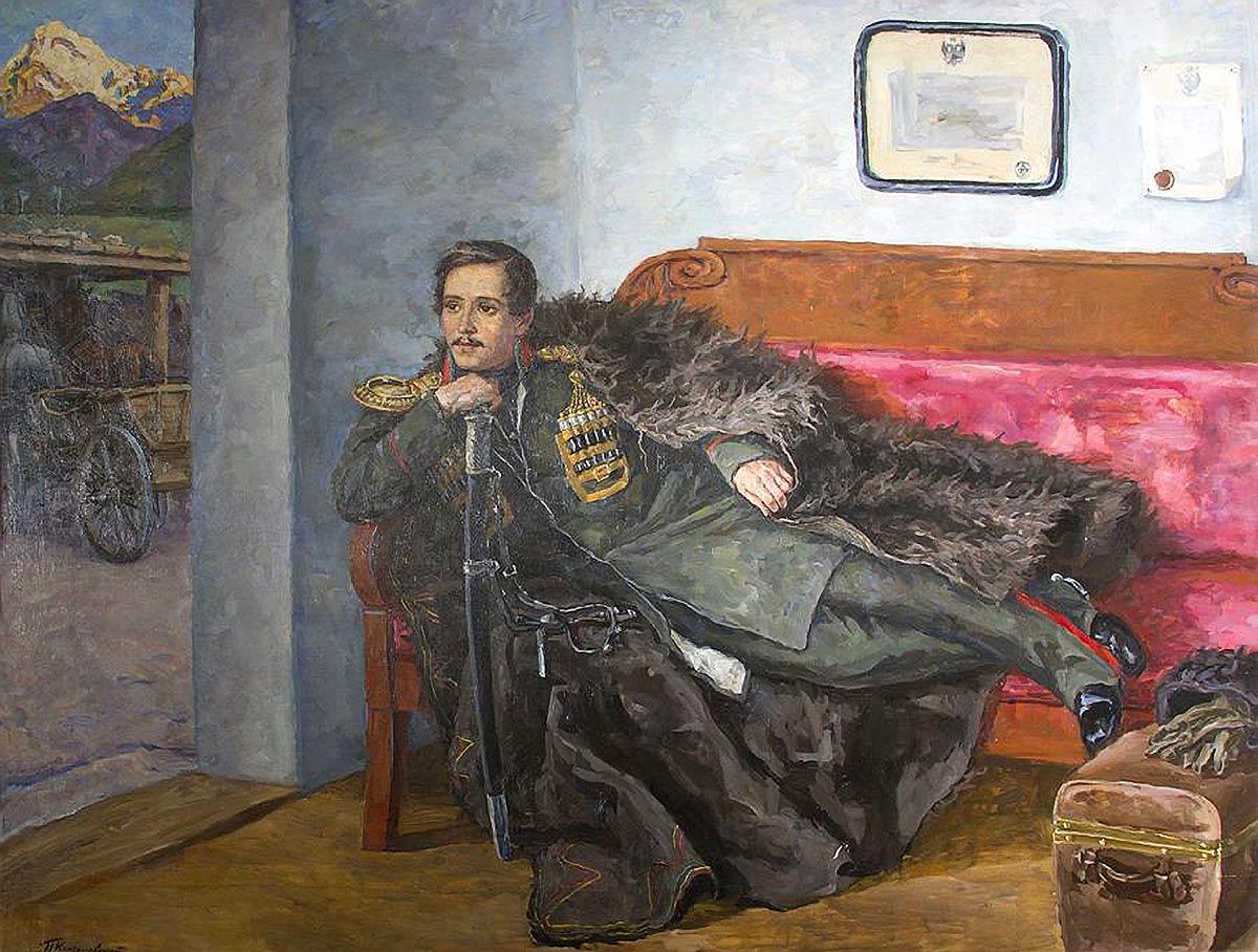 Лермонтов на Кавказе