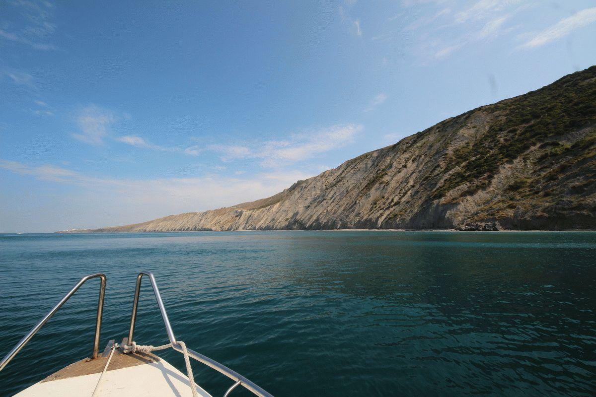 Фото Лысой горы с моря