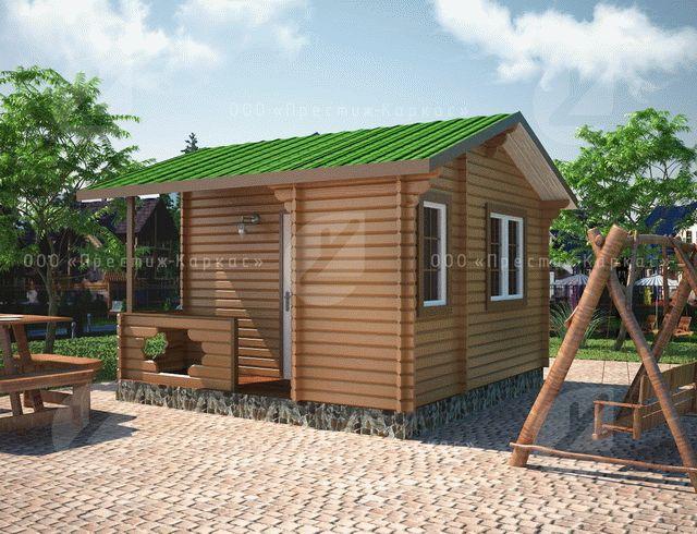 Проект дома из минибруса