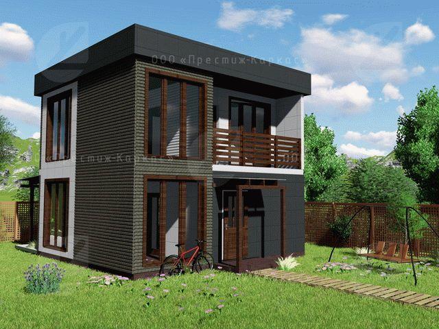 2-этажный мини-дом
