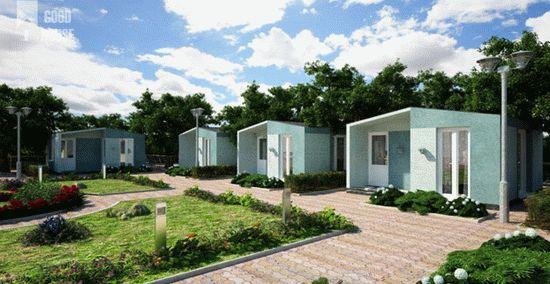 Модульные дома - Гостевые дома для бизнеса