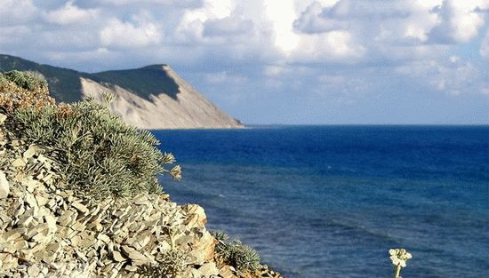 Красиые морские пейзажи курорта Анапа