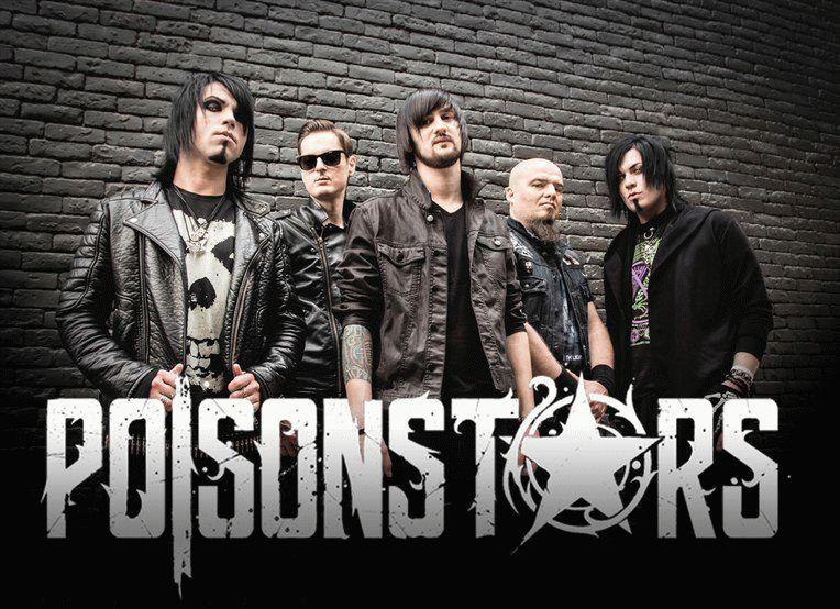 Музыка в Анапе - местная группа Poison Stars