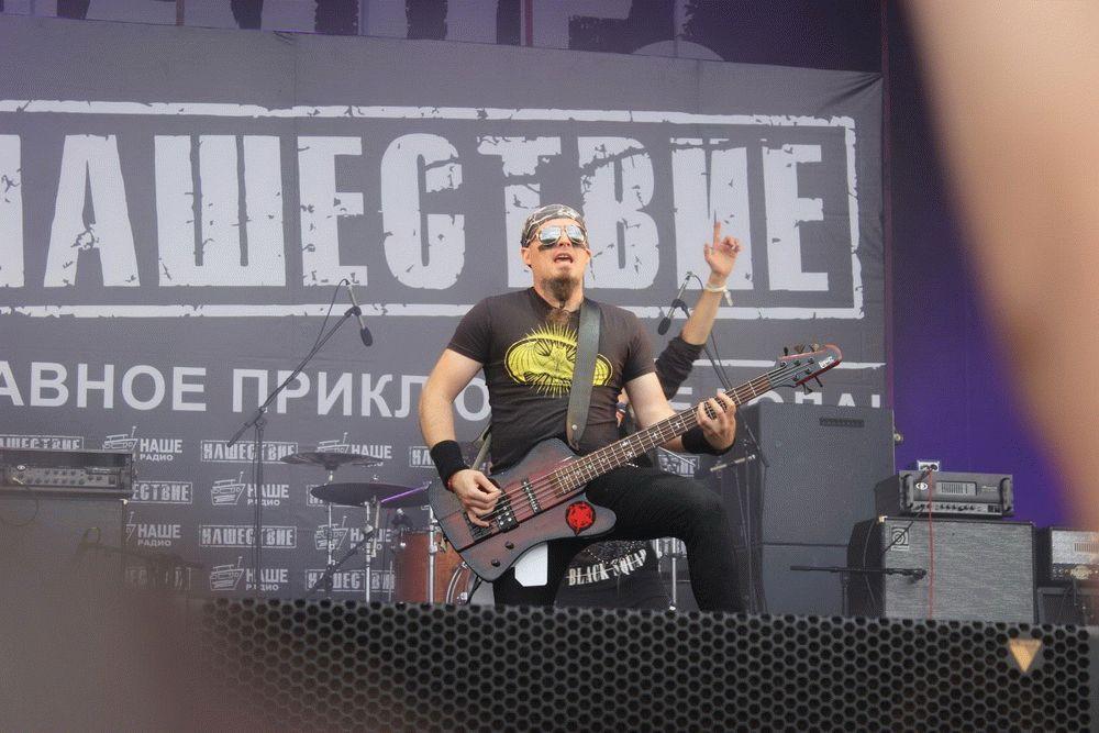 Музыканты Анапы на Нашествии
