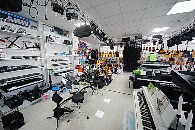 Музыкальные магазины в Анапе