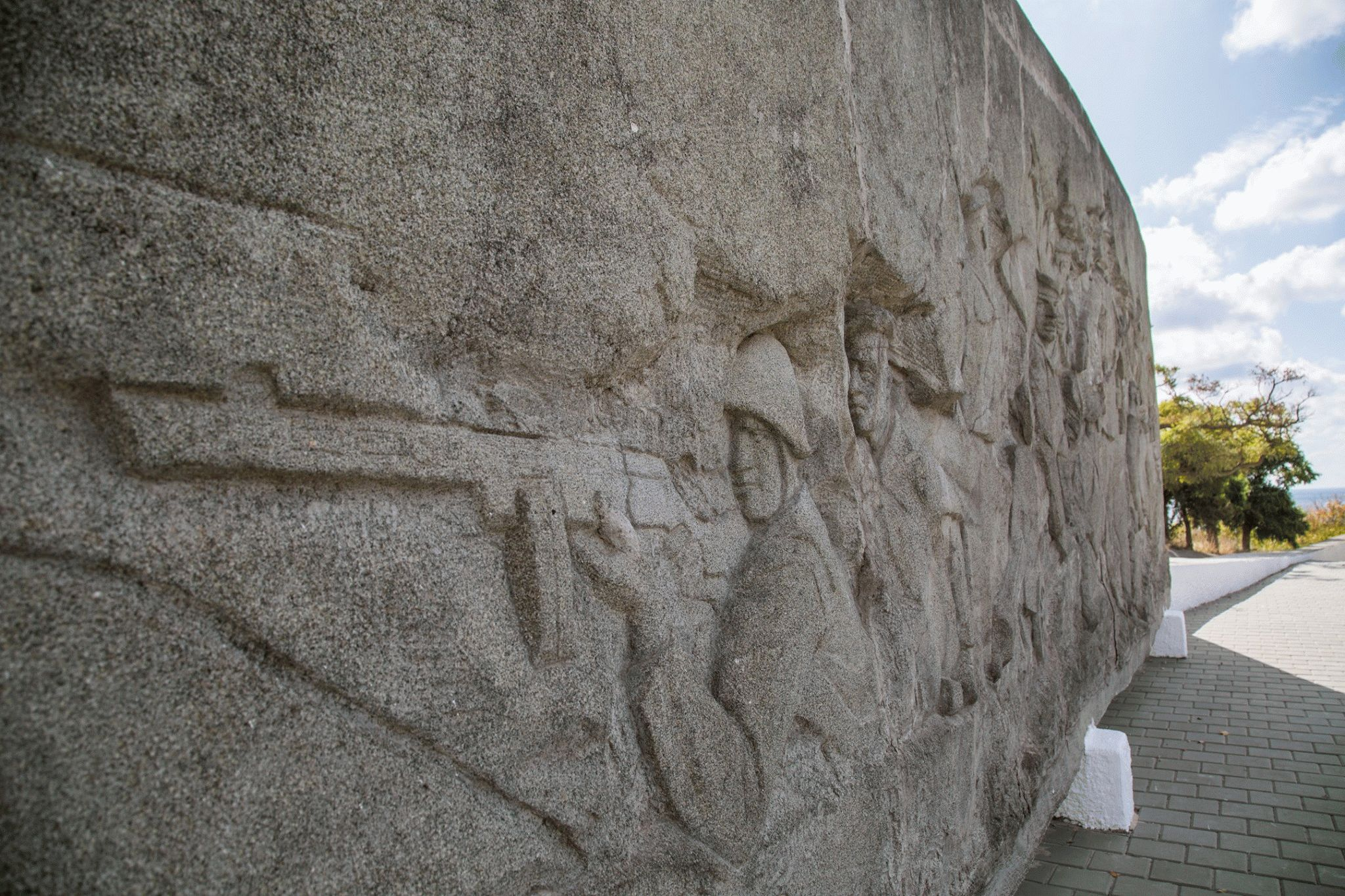 Памятник капитана Калинина