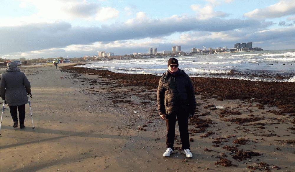 Прогулки вдоль моря в Анапе