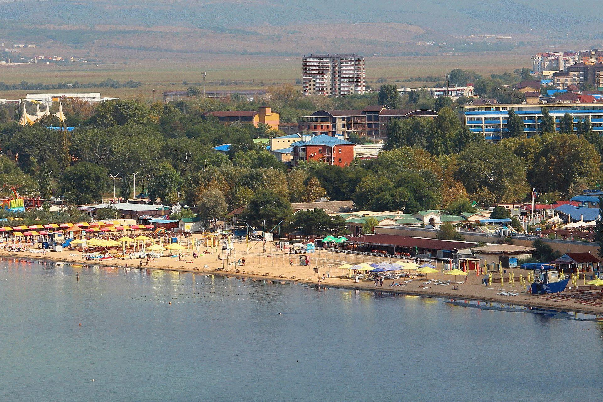 Море Анапы в сентябре