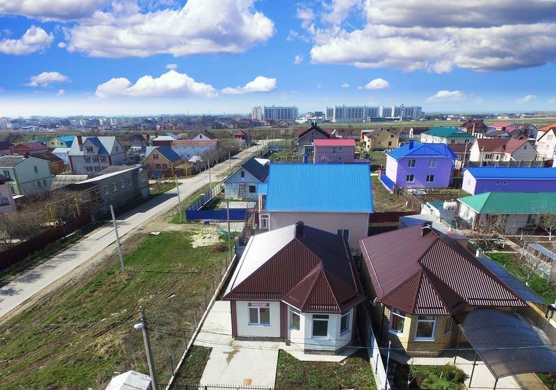 Поселок Пятихатки в Анапском районе