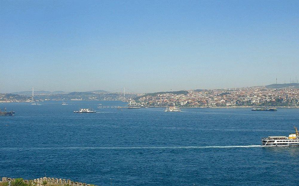 Пролив Босфор на Черном море