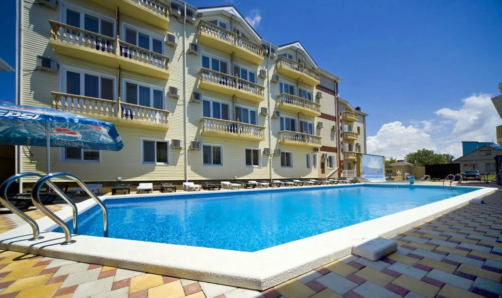 Варианты проживания на курорте Анапа