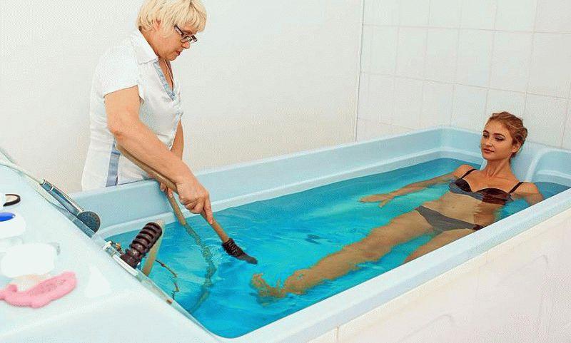 Лечение в санаториях курорта