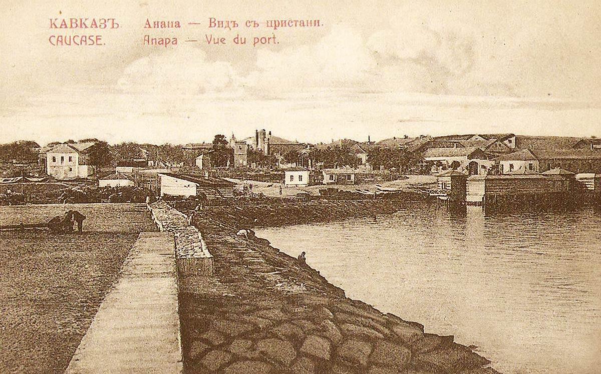 Черноморский курорт Анапа
