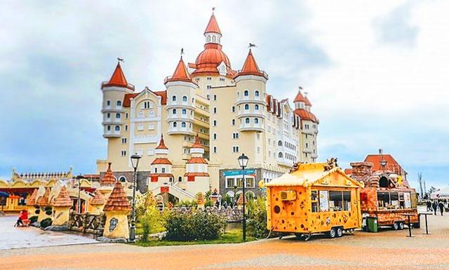 Развлечения курорта Сочи