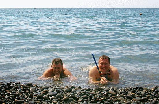 Чистое море в Сукко