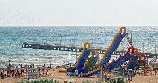 Пляжные развлечения в Витязево
