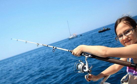 Рыбалка в море на курорта Анапа