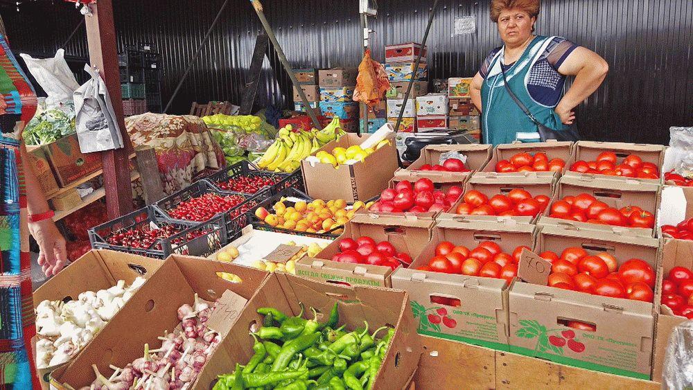 Рынок в Чембурке