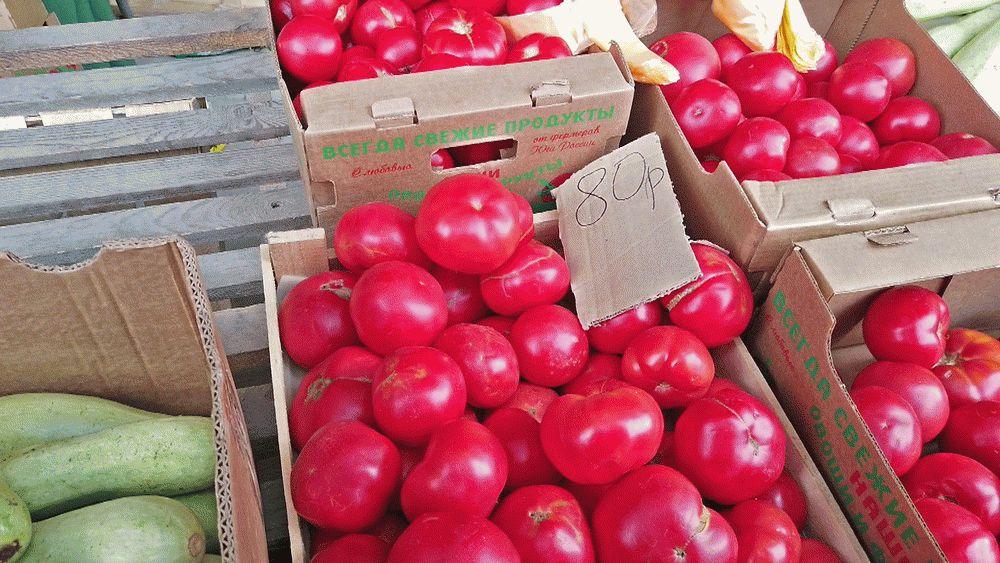 Низкие цены на рынке в Чембурке