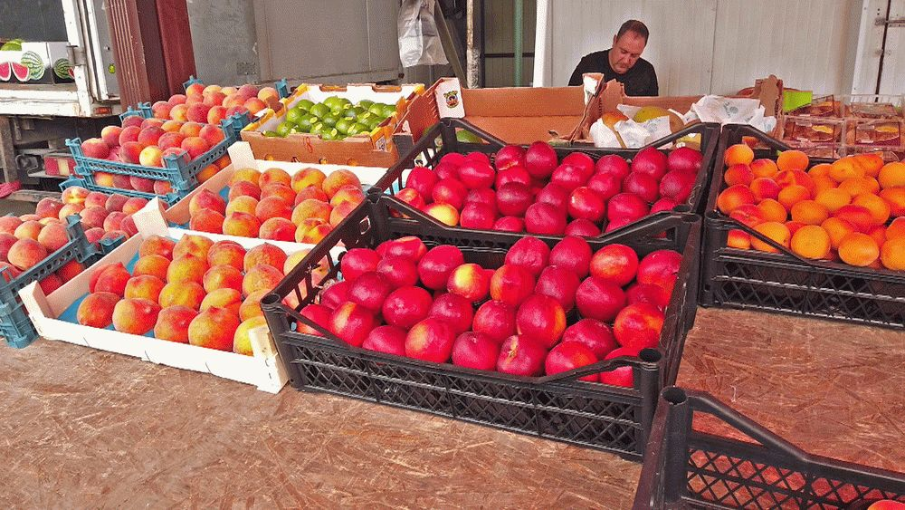 Рынок в Чембурке в Анапе