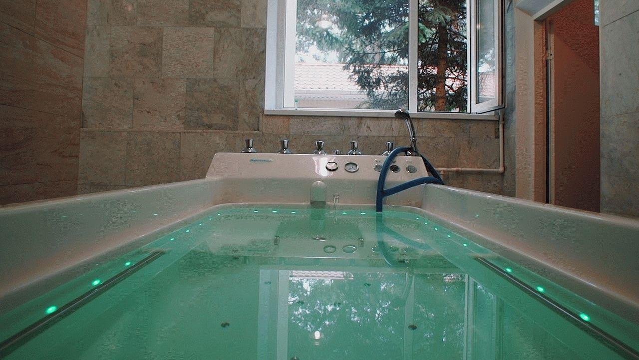 Целебные ванны в санатории