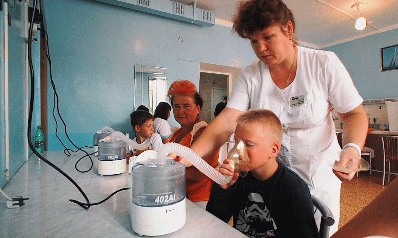 Лечение детей в санаториях