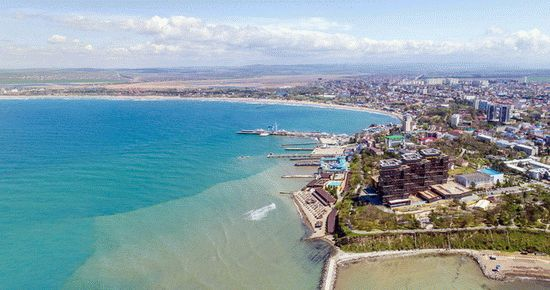 Санатории курортов на берегах Черного моря