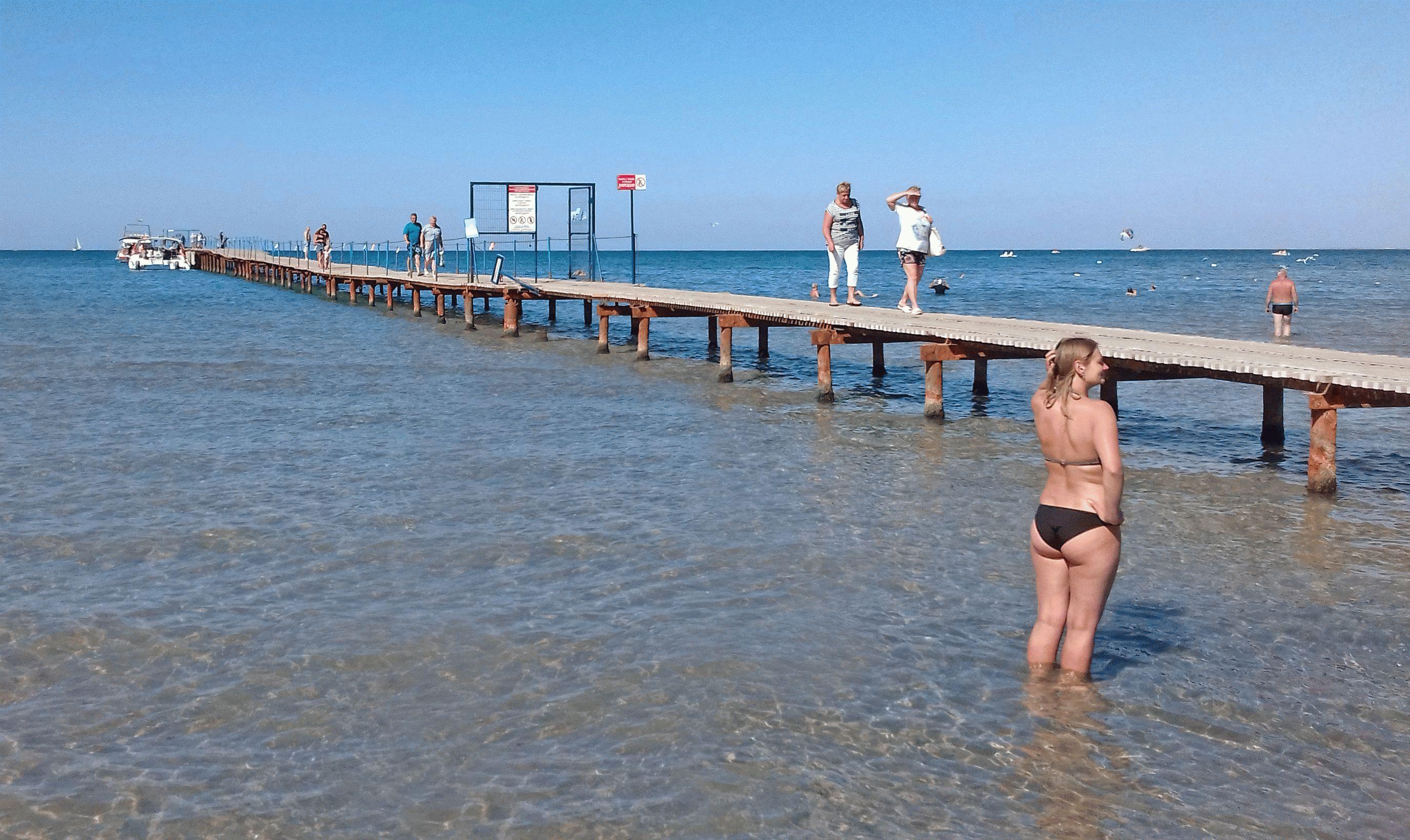 Теплое море в сентябре