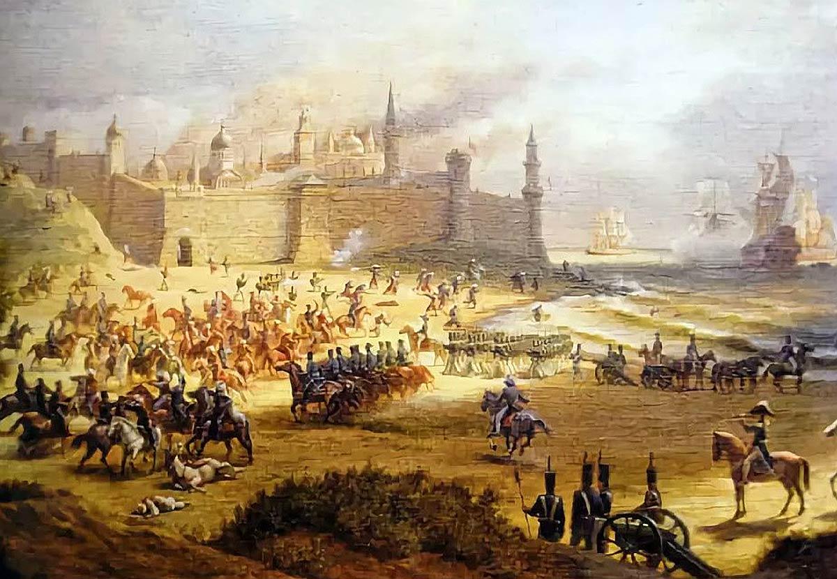 Штурм крепости Анапа