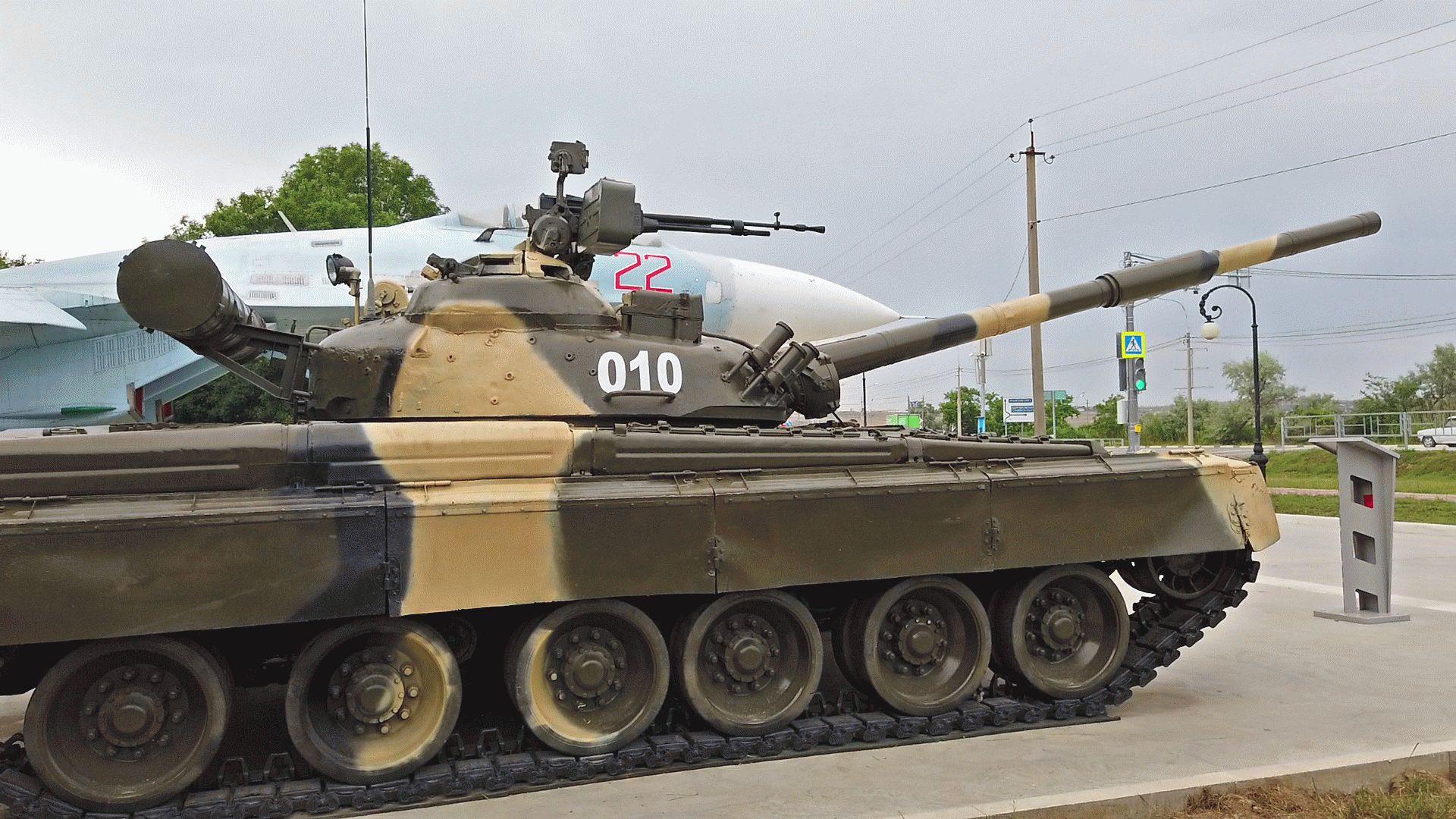 Т-80 в Анапе