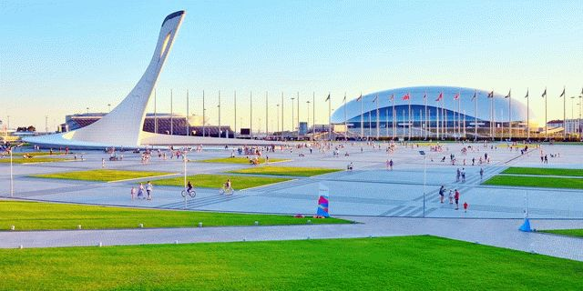 Олимпийский парк Сочи