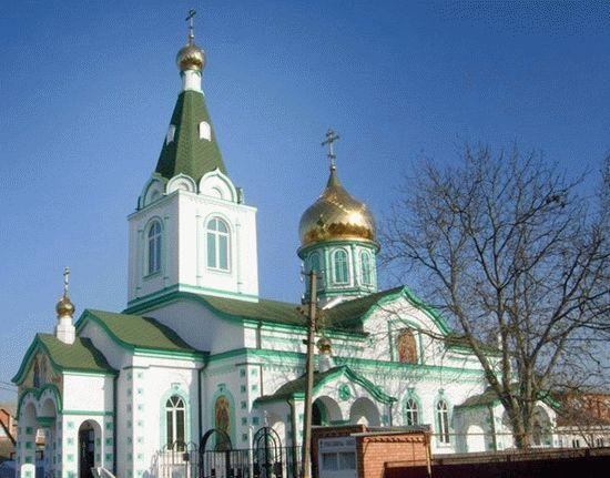 Храм в ст. Динской