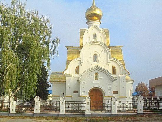 Храм в Тбилисской