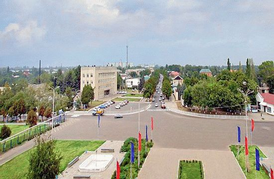 Станица Тбилисская в Краснодарском крае
