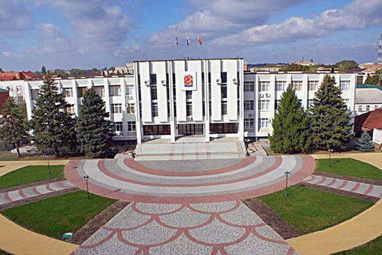 Большая станица на Кубани