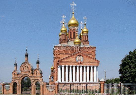 Храм в станице Кущевская