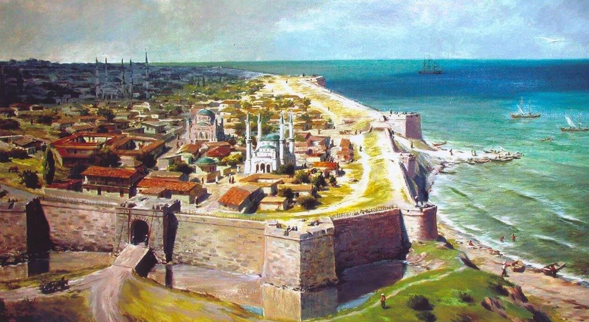 Турецкое владычество в Анапе